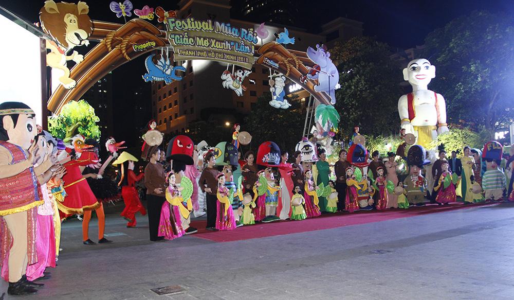 Adam Khoo Education - Quỹ Năng Đoạn Kim Cương đồng hành cùng Festival múa rối Giấc Mơ Xanh