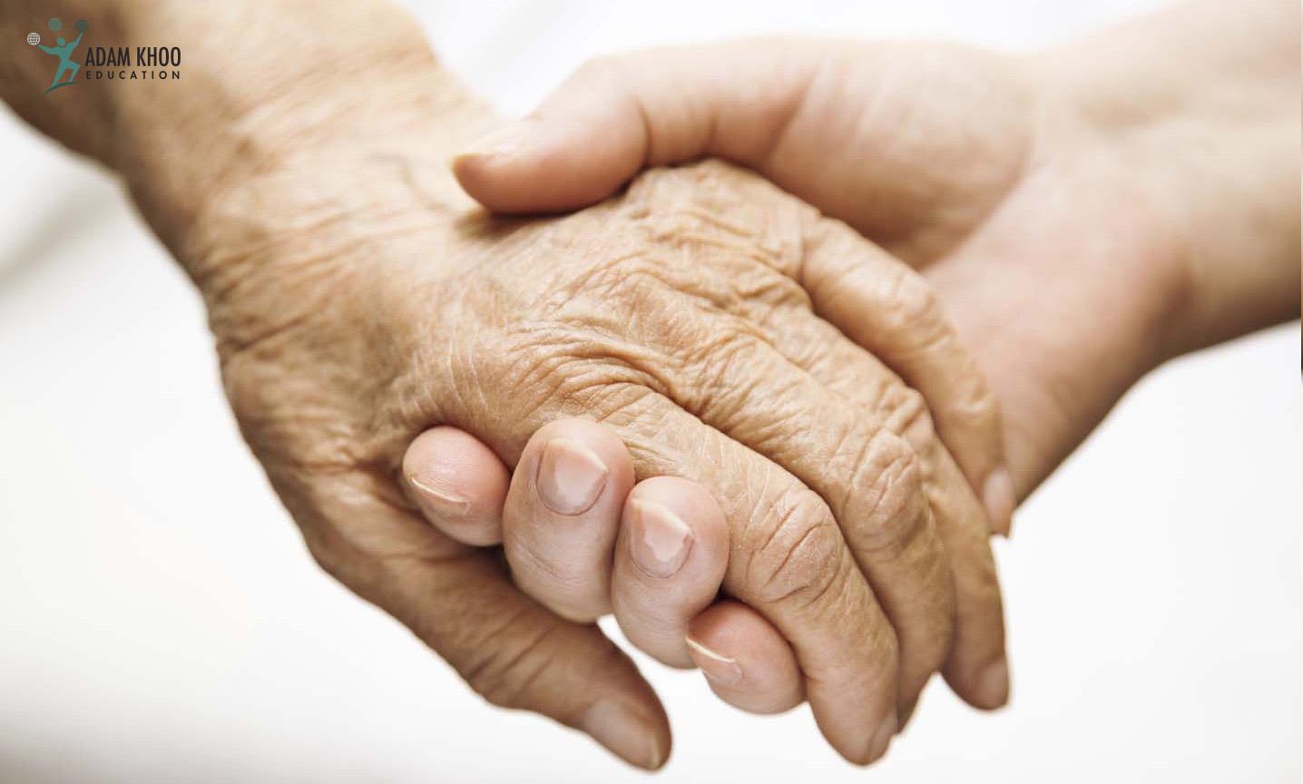 Bàn tay của mẹ, bài học của con