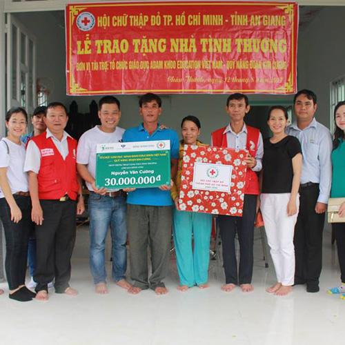 Chuỗi từ thiện hỗ trợ bà con nghèo tại An Giang của Adam Khoo Education (12/08/2017)