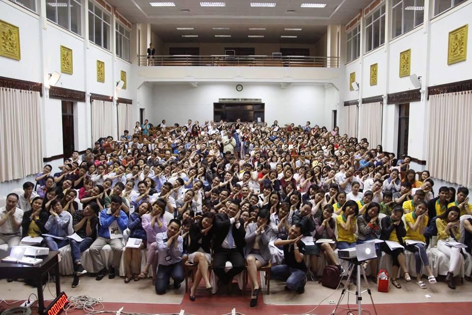 Năng Đoạn Kim Cương cấp độ 1 khóa 28 - Tp HCM 05/08/2018