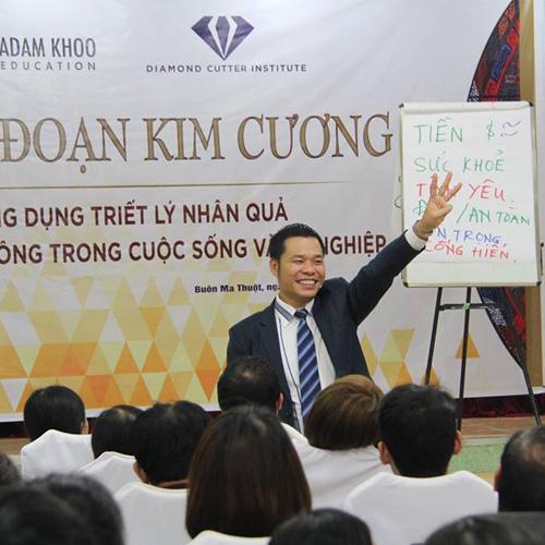 Khóa học NĂNG ĐOẠN KIM CƯƠNG cấp độ 1 - Dak Lak (21/10/2017)