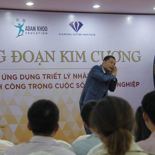 Khóa học NĂNG ĐOẠN KIM CƯƠNG cấp độ 1 - HCM (09/07/2017)