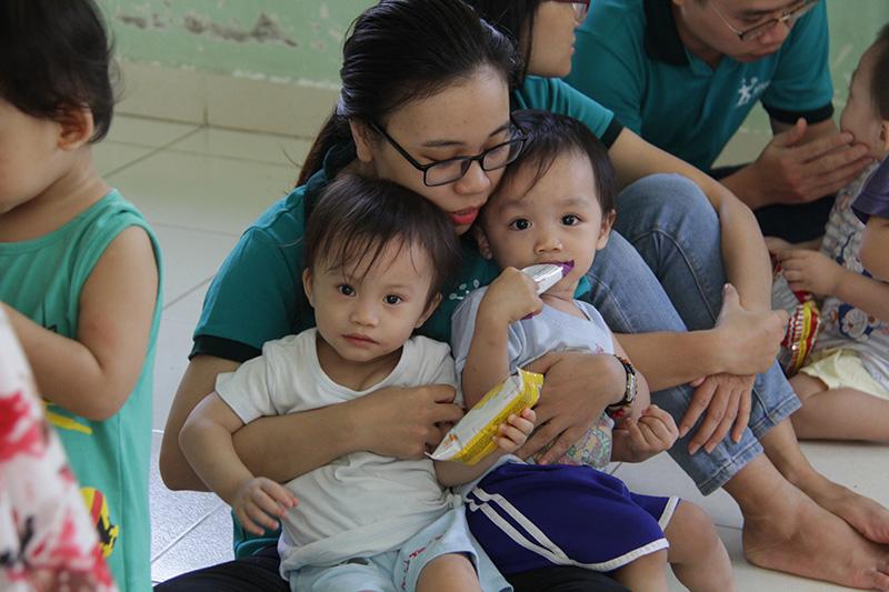Hoạt động Thiện nguyện tại Mái ấm Thiên Thần - Quận 9, TP HCM