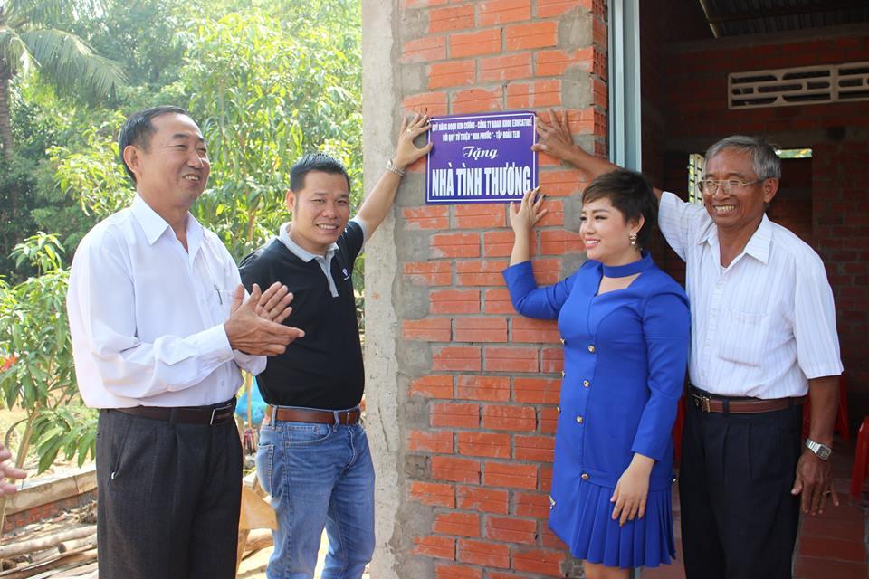 Khánh thành trao nhà từ thiện tại Vĩnh Long 27012019