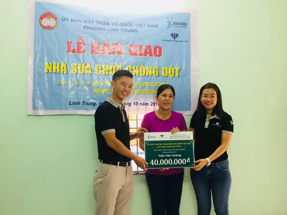Bàn giao sửa nhà chống dột tại Linh Trung, Thủ Đức, Tp Hồ Chí Minh