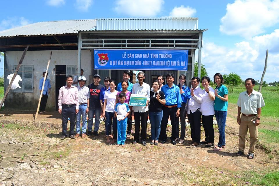 Khánh thành 4 căn nhà tình thương tại huyện U Minh, tỉnh Cà Mau